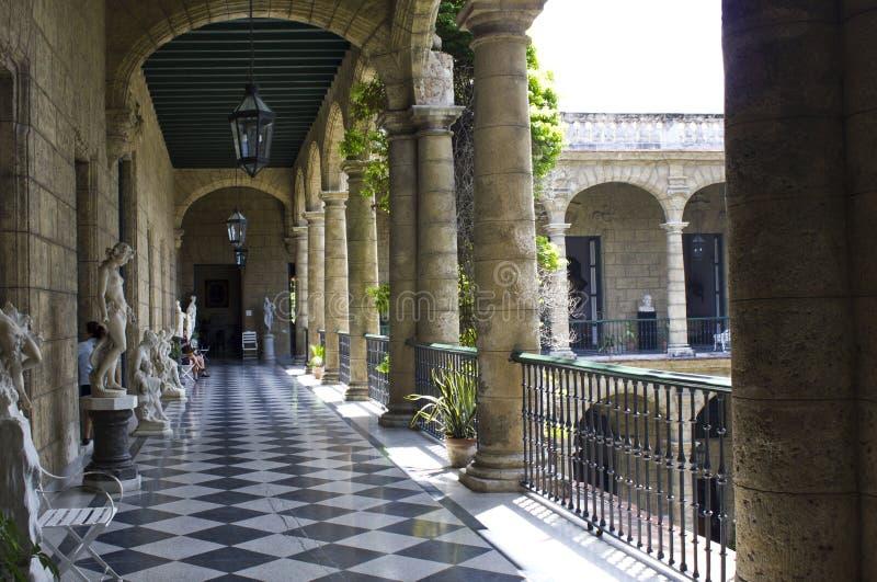 艺术古巴国家博物馆,哈瓦那 免版税图库摄影