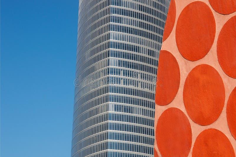 艺术和设计都市在毕尔巴鄂,西班牙 库存照片