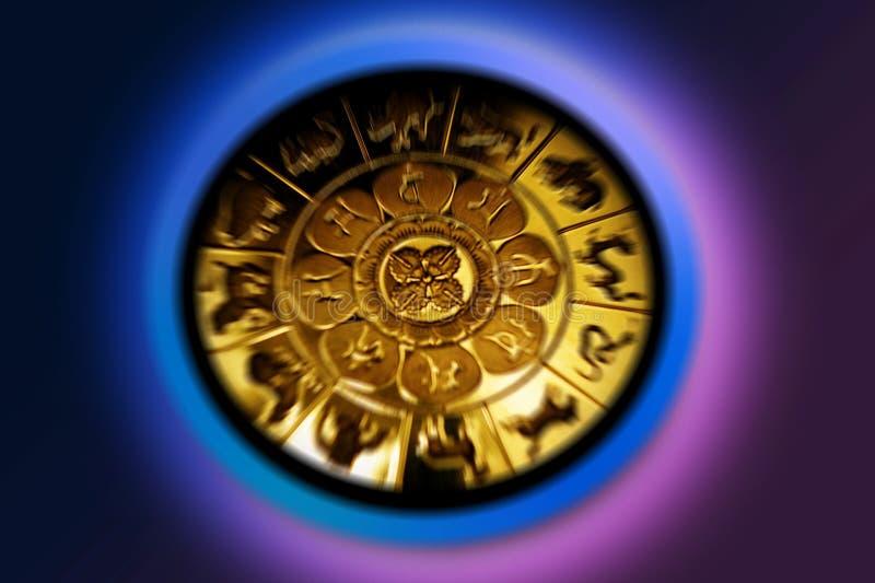 艺术品设计符号符号十二多种黄道带 免版税库存照片