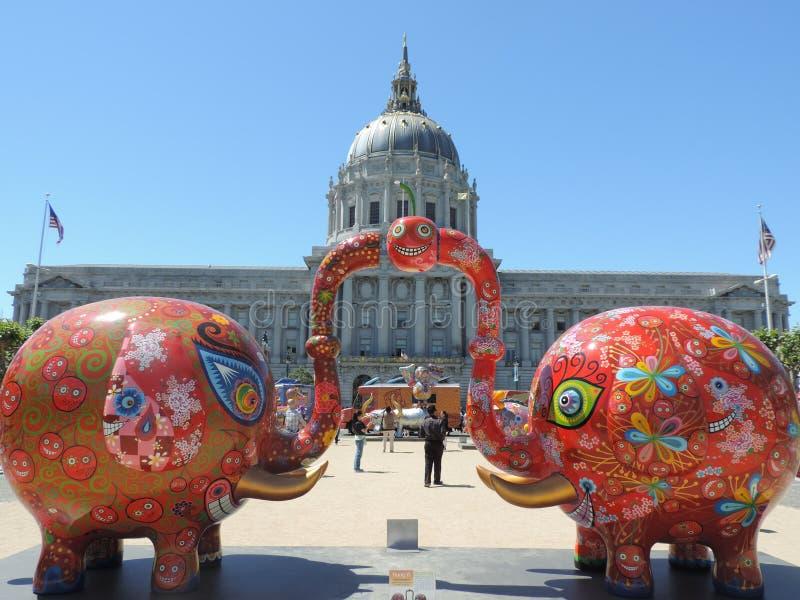 艺术在旧金山 免版税库存图片