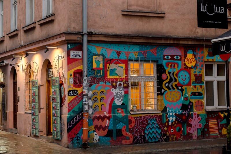 艺术在波兰 免版税库存图片