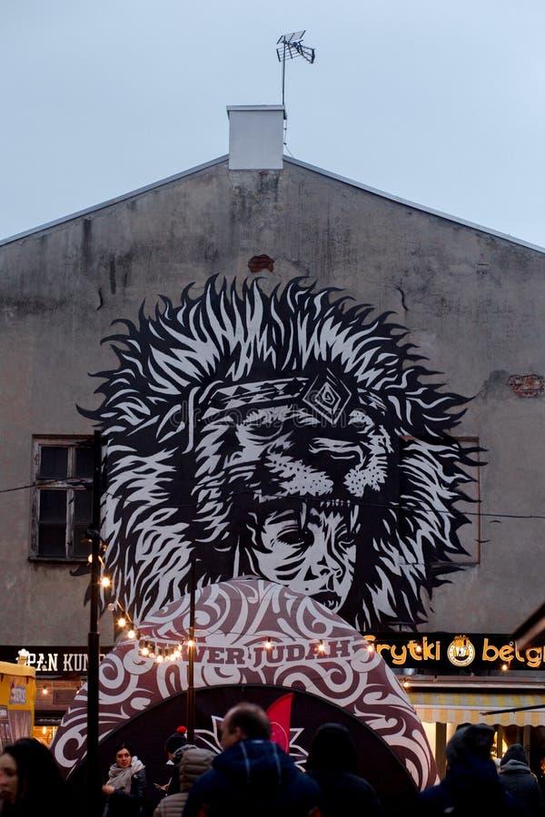 艺术在波兰 库存图片