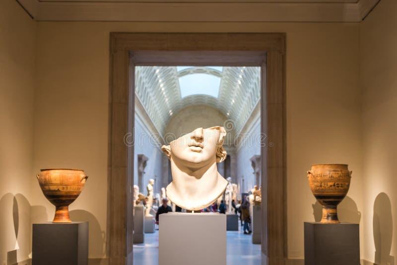 艺术城市大城市博物馆纽约 免版税图库摄影
