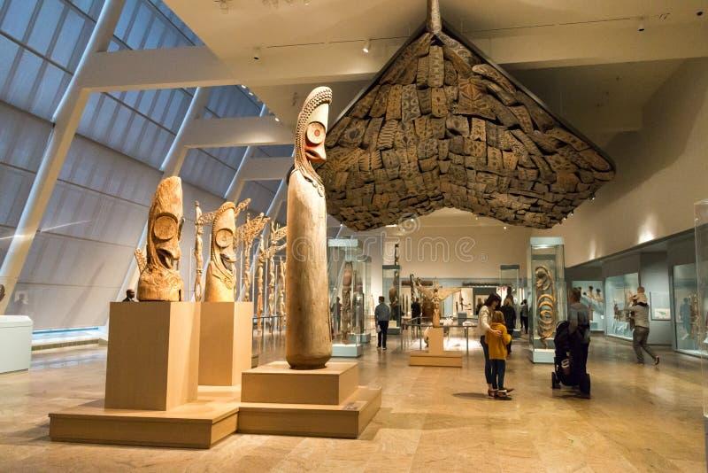 艺术城市大城市博物馆纽约 库存照片
