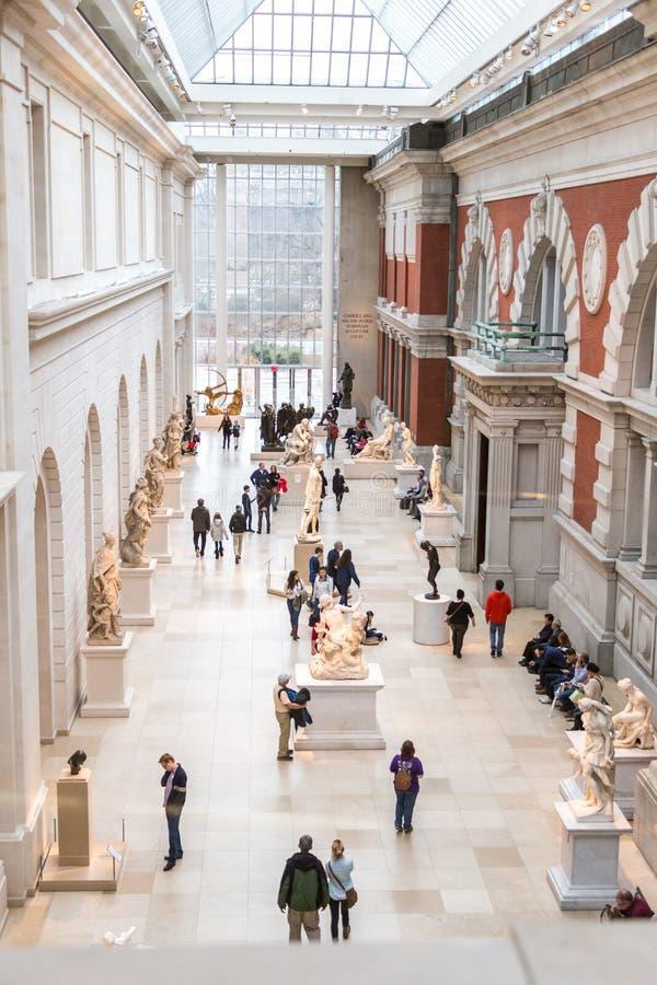 艺术城市大城市博物馆纽约 图库摄影
