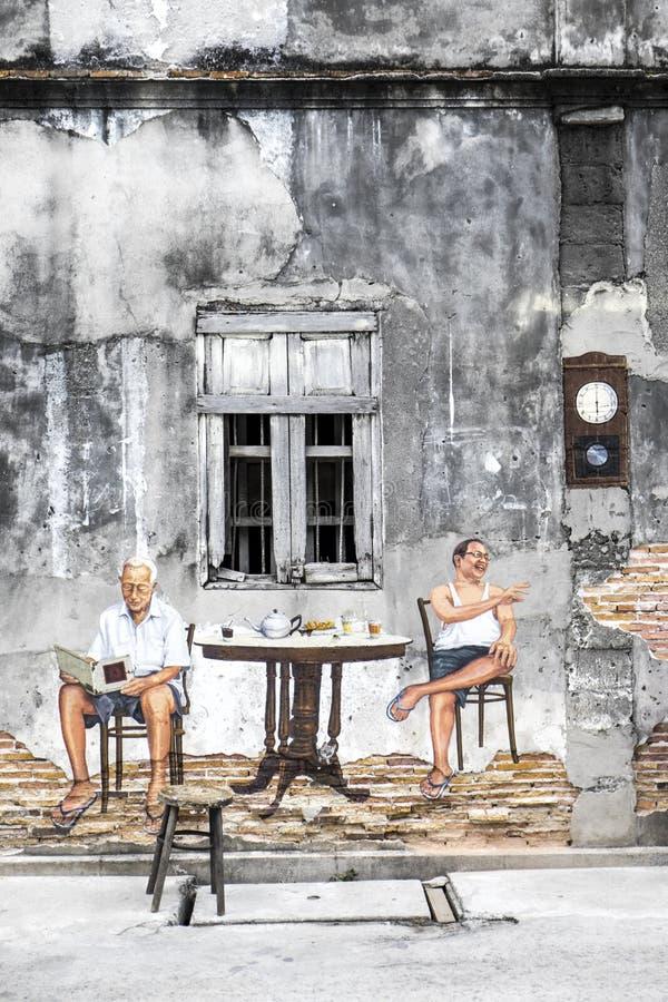 艺术墙壁 免版税库存图片