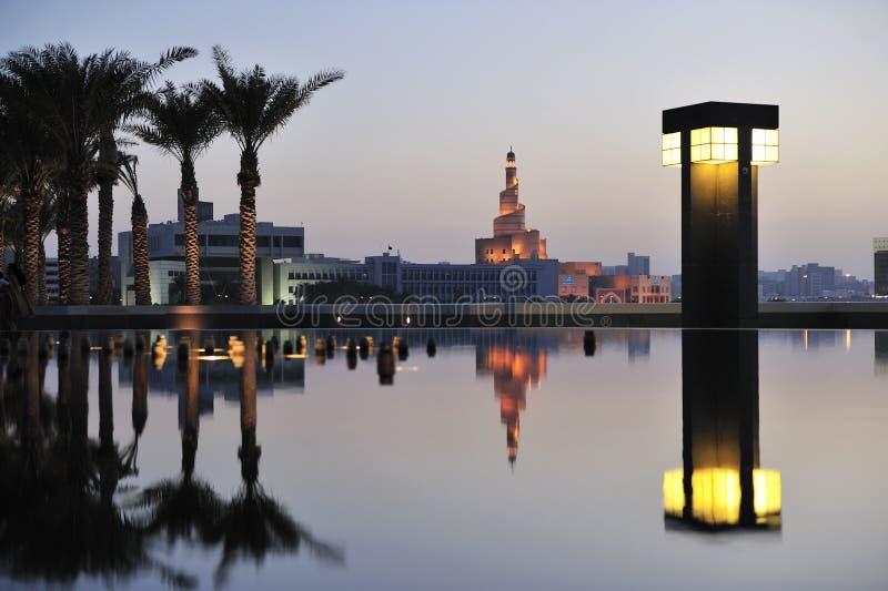 艺术多哈伊斯兰博物馆卡塔尔 免版税图库摄影