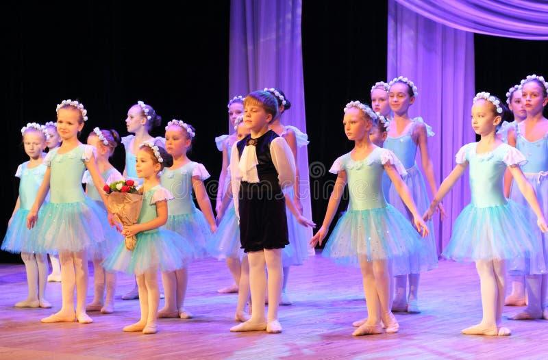 年轻艺术家芭蕾  免版税库存图片