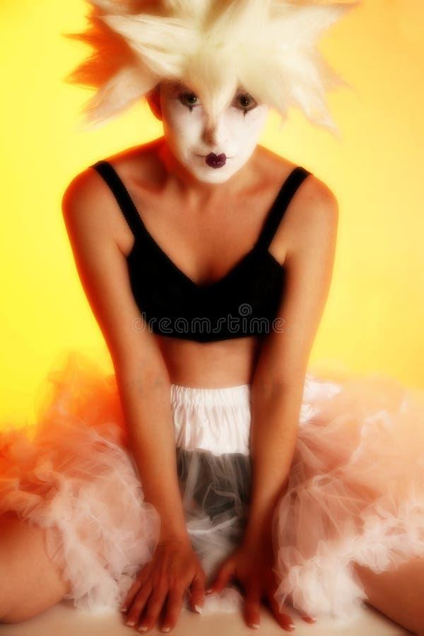 艺术性的化妆用品 库存图片