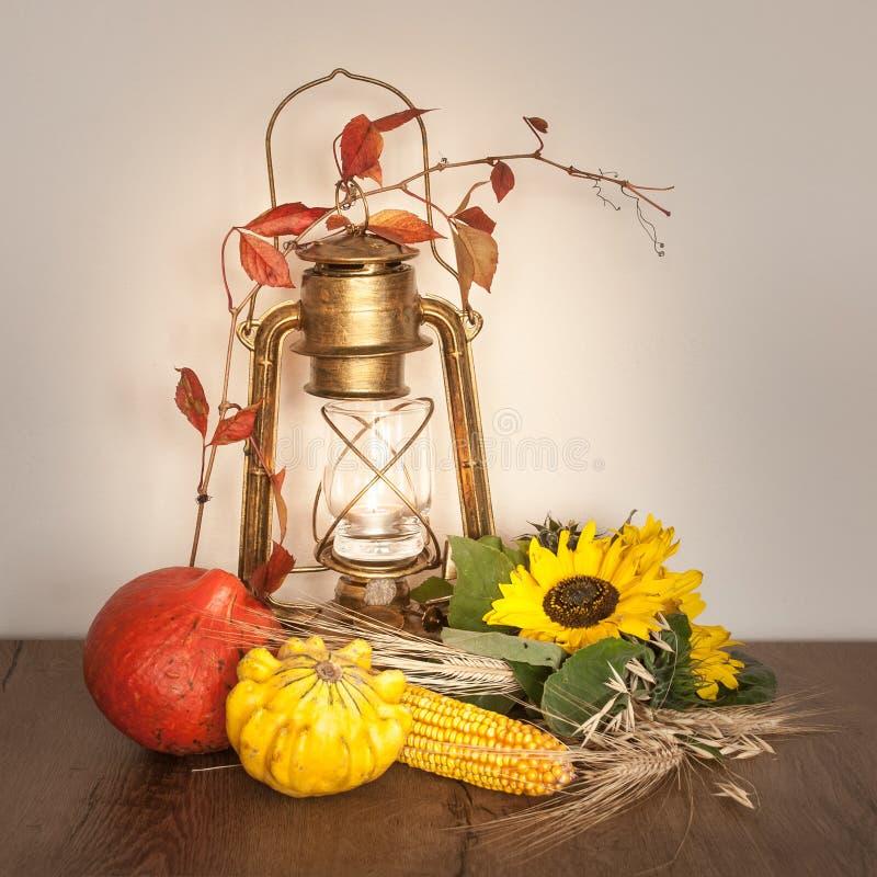 艺术性的喜怒无常的秋天安排 库存照片