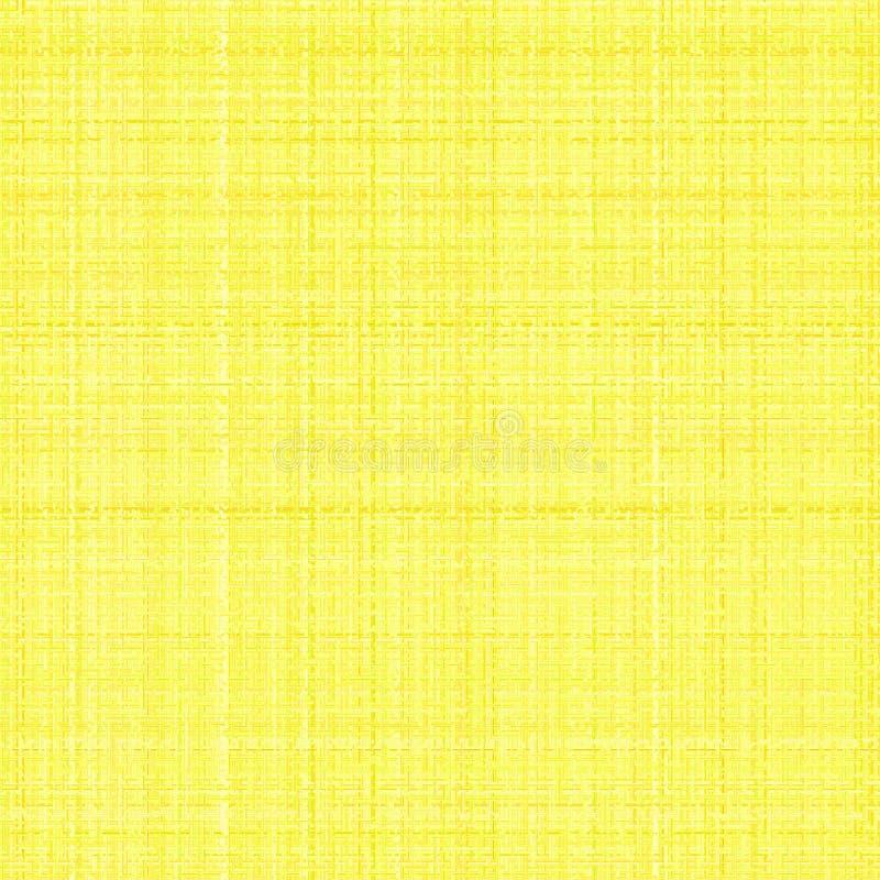 艺术性的画布黄色 向量例证
