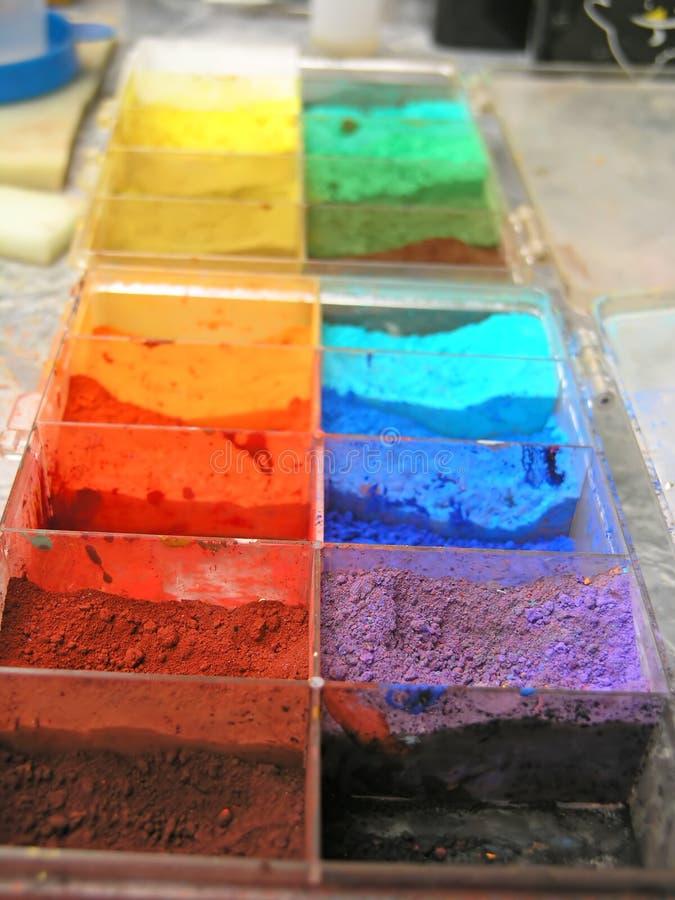 艺术性的颜色 免版税库存照片