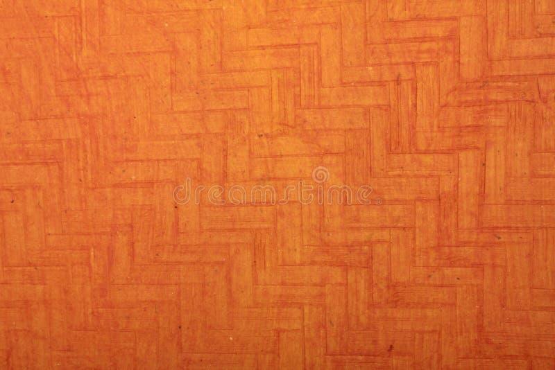 艺术手工制造橙色纸张构造了 库存照片