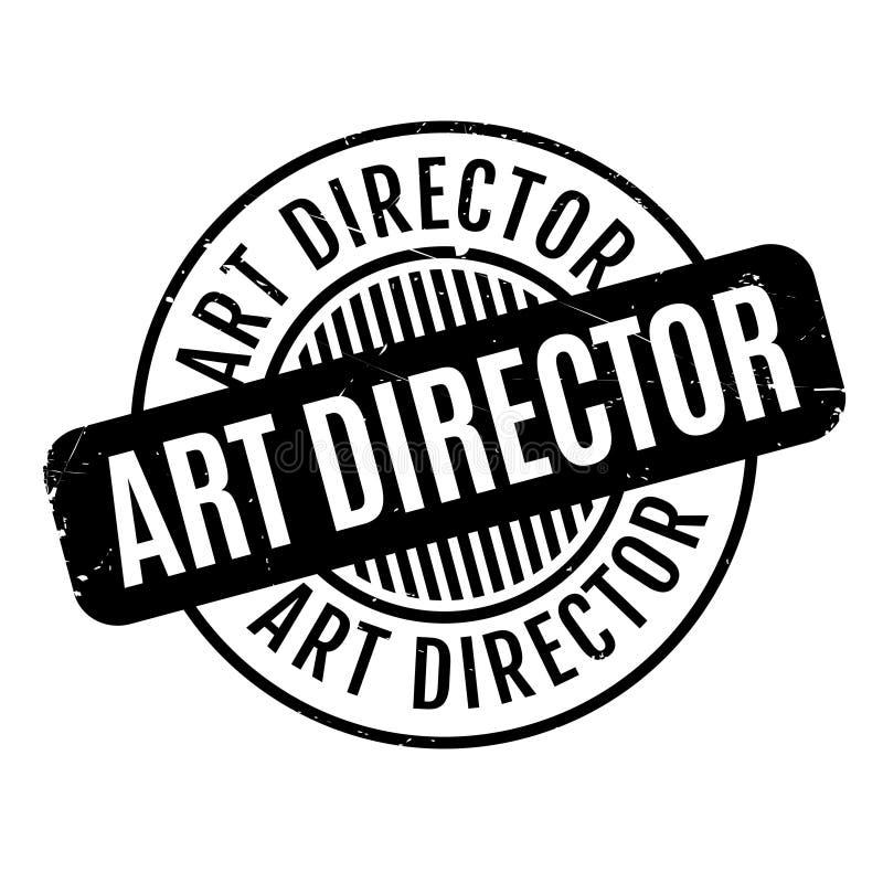 艺术指导不加考虑表赞同的人 向量例证
