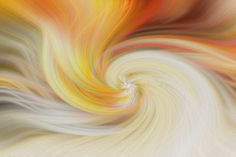 艺术摘要背景 橙黄色 库存图片