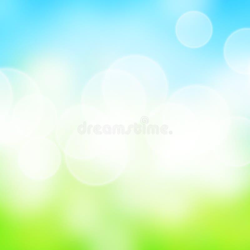 艺术春天背景 免版税库存图片