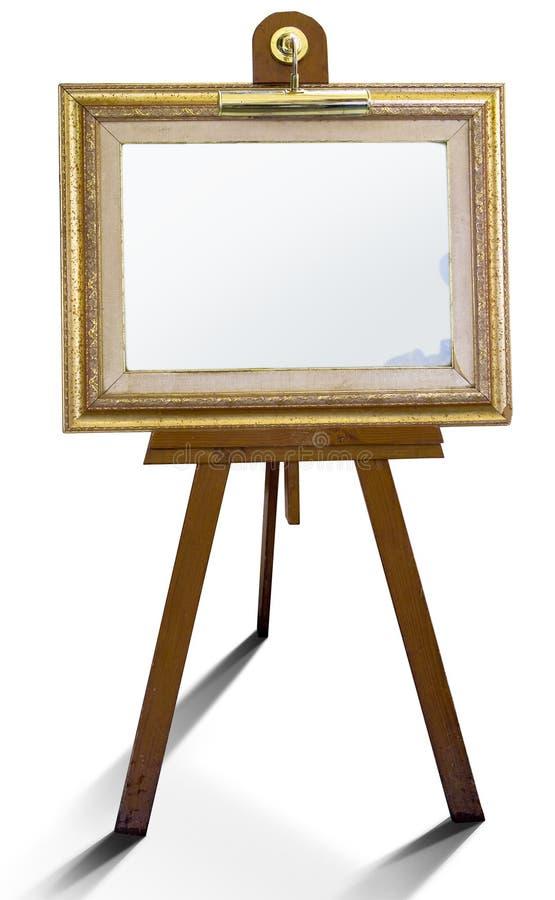 艺术框架报表 免版税库存图片
