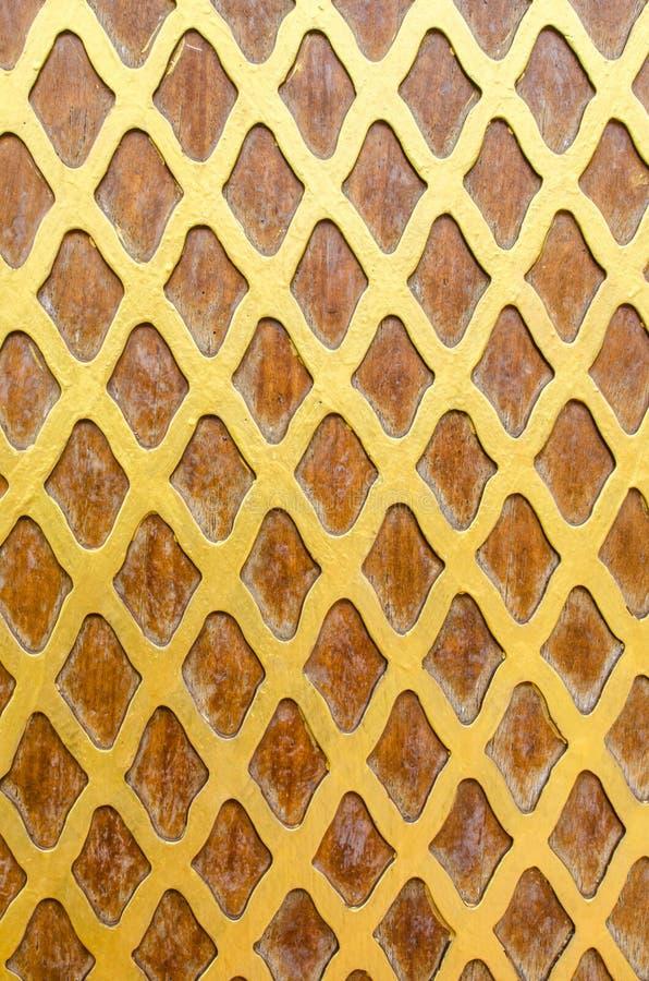 艺术模式寺庙泰国墙壁 免版税库存图片