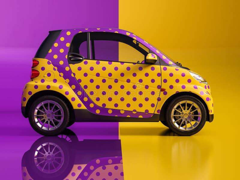 艺术汽车 免版税库存图片