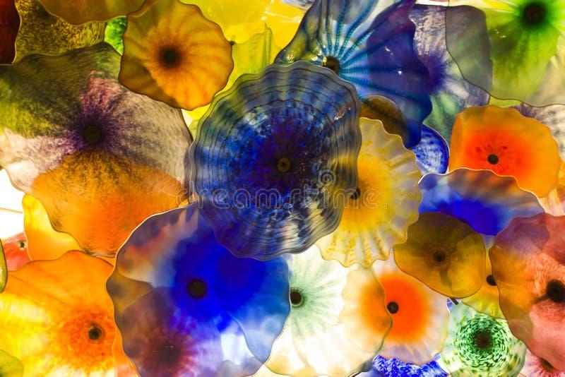 艺术玻璃 免版税库存照片