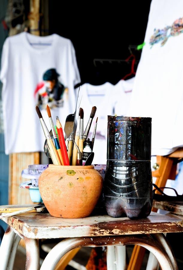 艺术用品 免版税图库摄影