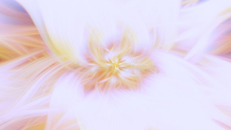 发光淡色光芒背景的爆炸 艺术科学幻想小说 皇族释放例证