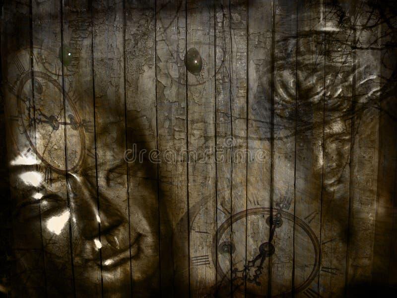 艺术细致的例证现代宗教信仰 皇族释放例证