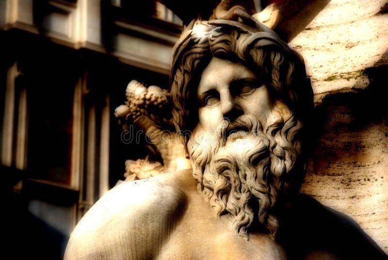 艺术细致的罗马 库存照片