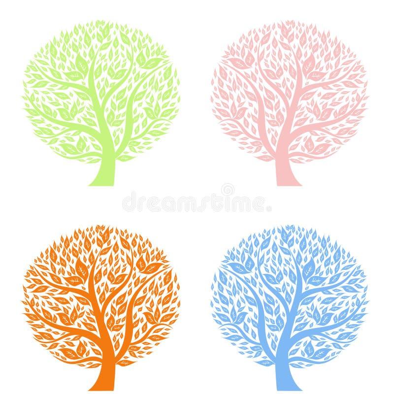 艺术结构树 皇族释放例证