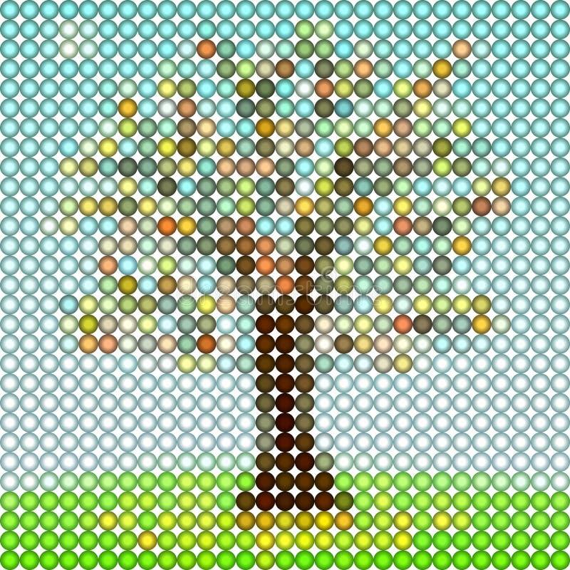 艺术结构树 向量例证