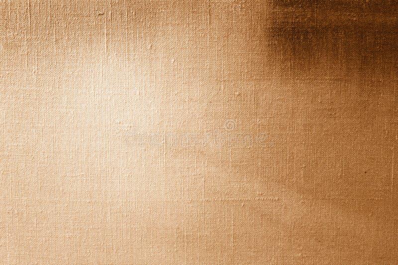 艺术绘画和图画的金黄帆布纹理背景 抽象绘的样式和纹理 库存图片