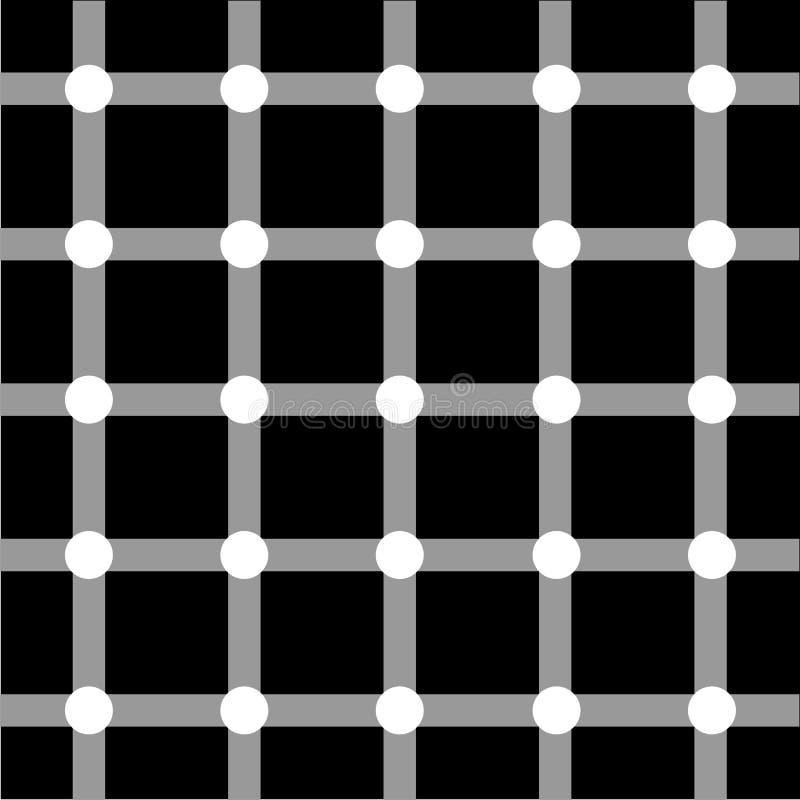艺术网格光学系列 皇族释放例证
