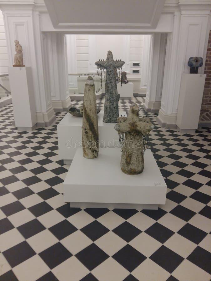 艺术罚款博物馆 免版税库存照片