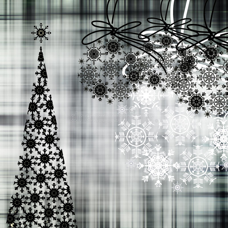 艺术背景圣诞节 向量例证