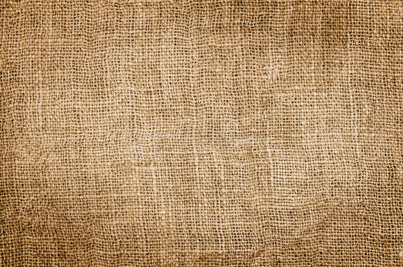 艺术背景粗麻布布料片段图象大袋纹理种类 库存图片