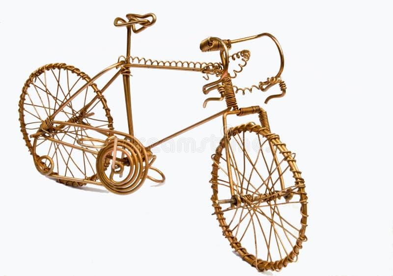 艺术自行车电汇 免版税库存图片