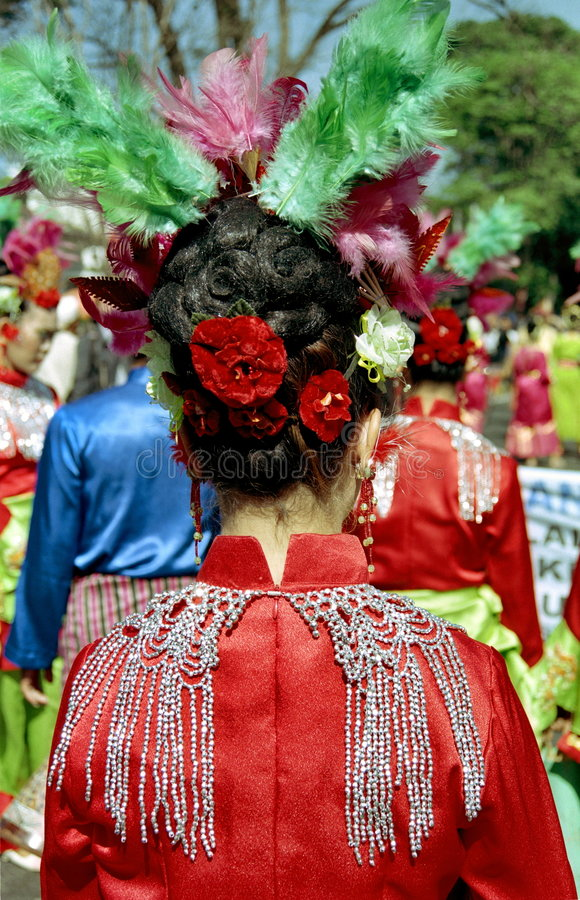 艺术节印度尼西亚语 库存图片
