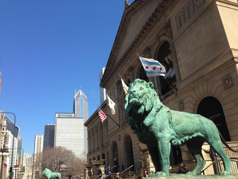 艺术芝加哥学院 免版税库存照片