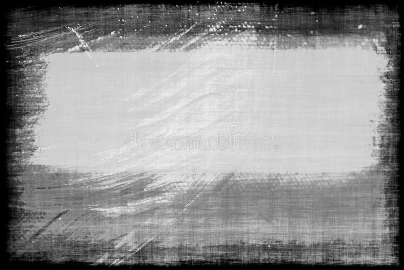 艺术被绘的画布 库存例证