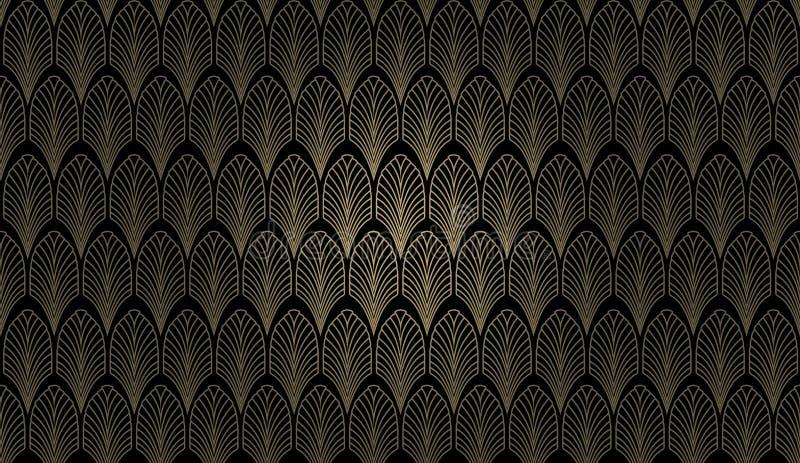 艺术装饰墙壁 向量例证
