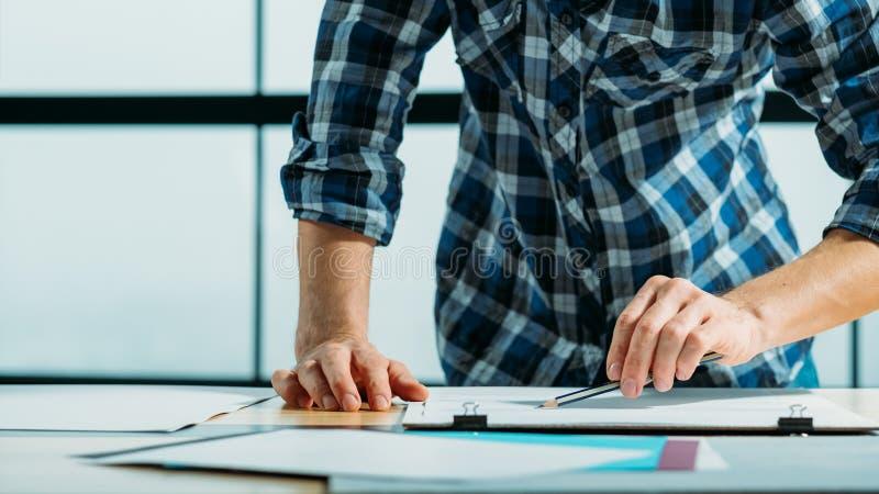 艺术设计学校图画剪影委员会 库存图片
