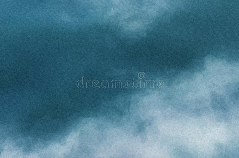 艺术迷离蓝色颜色摘要样式背景 皇族释放例证