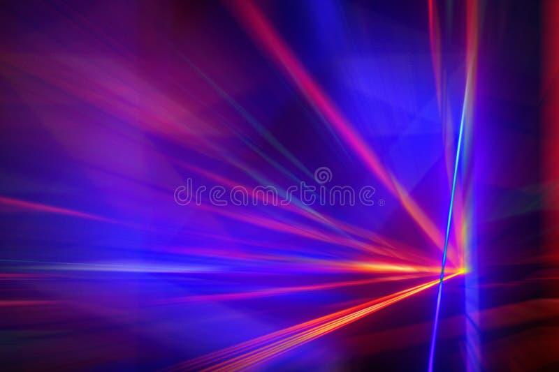 艺术迷离颜色激光背景 库存例证