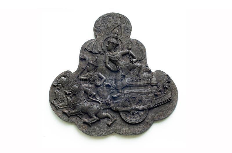 艺术造型样式泰国传统 免版税库存照片