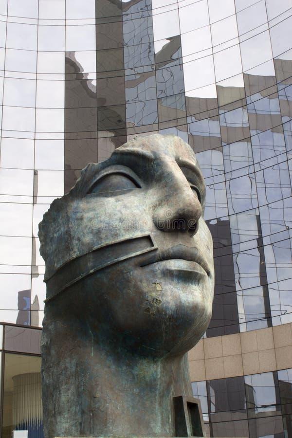 艺术防御现代巴黎 图库摄影