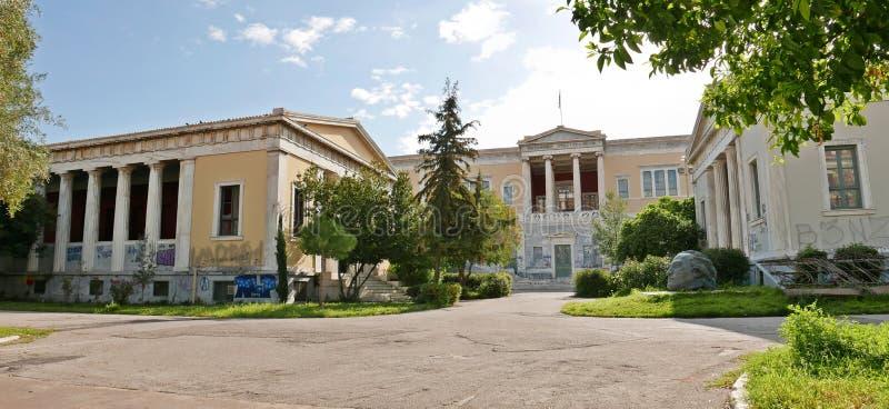 艺术雅典学校  库存图片