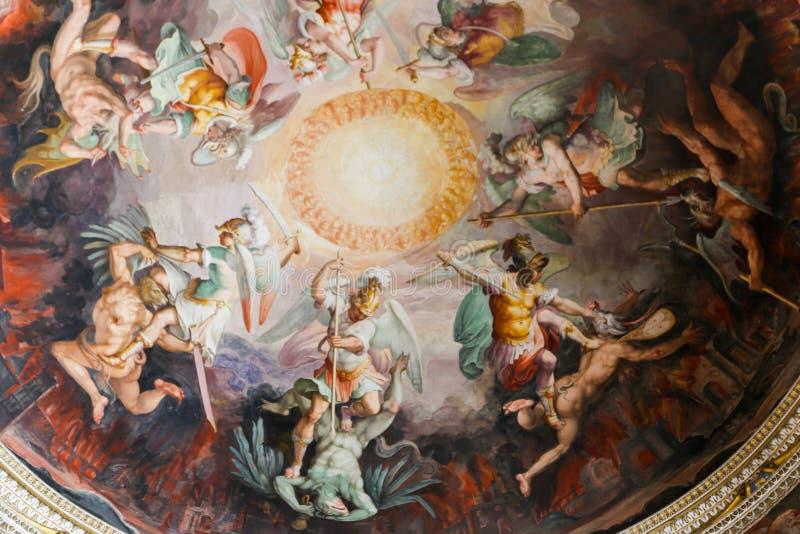 艺术-梵蒂冈博物馆,罗马 库存图片