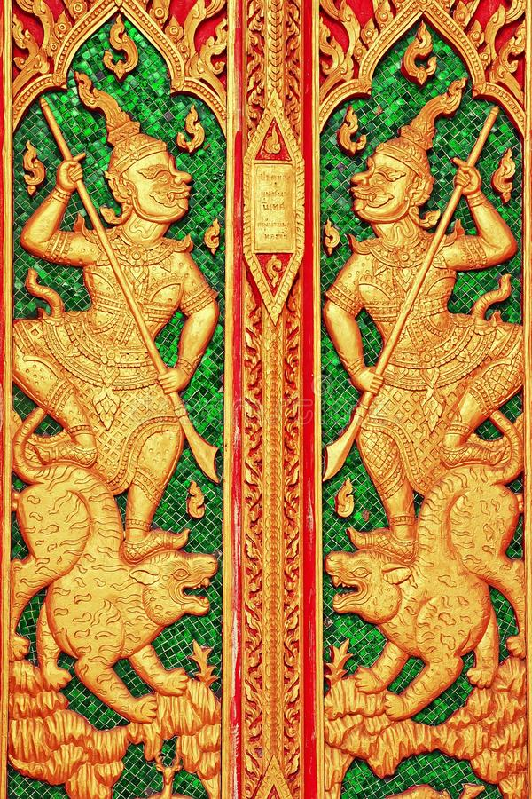 艺术细致泰国 库存照片