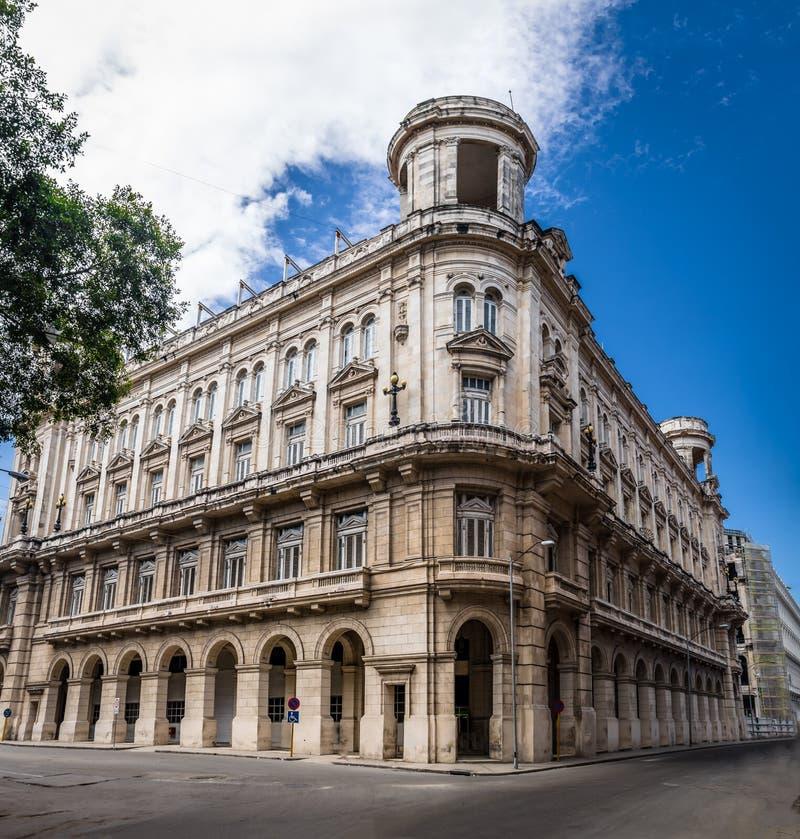 艺术Museo Nacional de贝拉斯阿特斯-哈瓦那,古巴国家博物馆  免版税库存照片