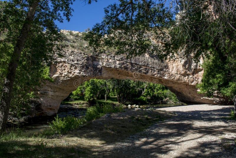 艾尔自然桥梁公园 免版税库存照片